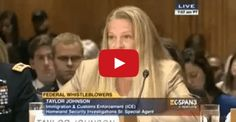 """Taylor Johnson, a Department of Homeland Security (DHS) agent blew the whistle on purposefully lax law enforcement during a immigration program, according to the Conservative Tribune. She told the Senate Committee on Homeland Security and Governmental Affairs that after revealing the """"irregularities"""" in the program, she faced harsh punishment. The program she was revealing is …"""