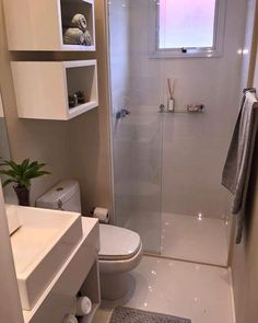 Home Renovation Bathroom Small Apartment Therapy 28 Ideas Very Small Bathroom, Small Bathroom Storage, Bathroom Design Small, White Bathroom, Master Bathroom, Bronze Bathroom, Simple Bathroom, Small Storage, Bath Design