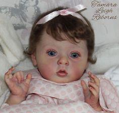 Tiffany Natali Blick Reborn Baby Girl Fake Baby Doll Tamara Auty Tamara Leigh Reborns