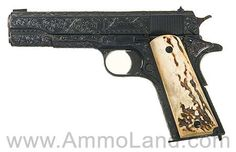 Engraved U.S. Springfield Model 1911 Pistol with Union Switch and Signal Slide