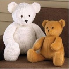 Teddy bear sewing patterns.
