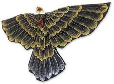 Kite, 'Golden Garuda'