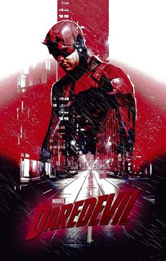Daredevil Poster (credit to u/PlzStayandPlay) Marvel Comic Universe, Marvel Art, Marvel Heroes, Marvel Cinematic Universe, Marvel Dc Comics, Marvel Characters, Marvel Movies, Superman Movies, Fictional Characters