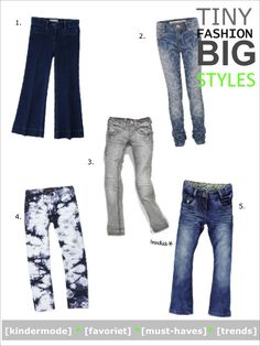 The best jeans for boys and girls at Just by Manon