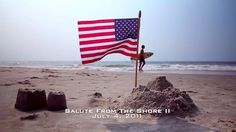 Salute from the Shore II by Salute from the Shore. Salute from the Shore, Inc. is a non-profit, 501c3 group whose mission is to Honor America's Armed Forces on Independence Day by organizing, promoting and filming a military flyover of the South Carolina coast on the 4th of July.