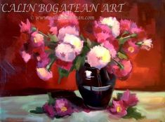 Crizanteme în cană de lut  natură statică pictură florală în ulei pe pânză lucrare de artă originală natură moartă tablou cu flori flori pictate pictură flori Crizanteme în cană țărăneaacă de lut pictură pe pânză Flori galbene în ulcior de lut pictat pe pânză tablou cuCrizanteme Chrysanthemum, Repeating Patterns, Art Gallery, Artist, Inspiration, Painting Art, Paintings, Oil, Textiles