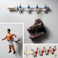 Upcycle Us: Upcycling table soccer parts