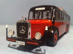 Mercedes-Benz O-10000 Diesel Motorcoach 1939 Model IXO Mercedes Benz Models, Diecast, Diesel, Antique Cars, Trucks, Vehicles, Tin, Plastic, Diesel Fuel