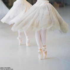 Movement reflected in the skirts!