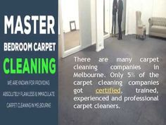Carpet Cleaning Melbourne, 3 Rooms Carpet Steam Cleaning for $99