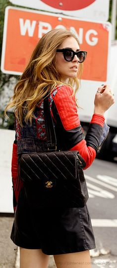 Luxury Street style - CHANEL 2.55 BACKPACK ::M::