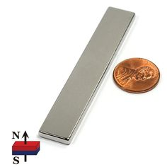 "CMS Magnetics Grade N52, the Strongest Neodymium Bar Magnet 3 X 1/2 X 1/8"", for Science and Hobbies, Crafting and Science Projects, One Piece: Amazon.com: Industrial & Scientific"