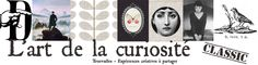 The Art of Curiosity Blog Banner, Great Websites, In The Tree, Shabby Vintage, Love Design, Origami, Craft Blogs, Paper, Illustration