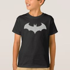 Kids Batman Logo Superhero T-Shirt - kids kid child gift idea diy personalize design