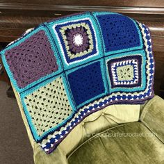 Square Crochet Along – Details