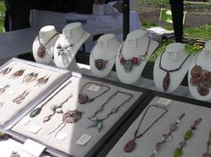 jewelry stall ideas - Google Search