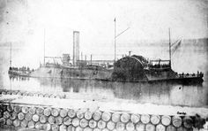 CSS Eastport,Confederate States Navy, 7 Feb 1862. Eastport, a partially completed ironclad, was captured from the Confederates on 7 Feb 1862 at Cerro Gordo, Tennessee, by the Union gunboats Conestoga, Tyler and Lexington. She was used by the Union Navy as a convoy and patrol vessel on Confederate waterways.