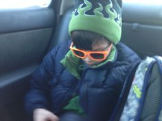 My son Gianni loves these shades