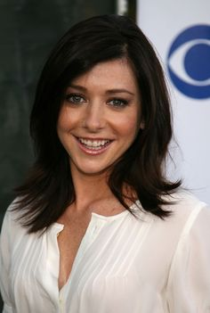Alyson Hannigan...perfect face model for my Silent Hill OC Enigma.