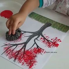 30 Art Projects for Kids Take crayons, glue, and paint, then let the ideas shine in your mind! This fun Art Projects for Kids is DIY activities and crafts. Diy And Crafts, Crafts For Kids, Arts And Crafts, Projects For Kids, Art Projects, Deco Originale, Spring Tree, String Art, Diy Art
