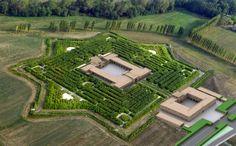 peanuts from Italy: Il labirinto della Masone di Franco Maria Ricci,Con il più grande labirinto al mondo, entrato a far parte del circuito Castelli del Ducato Parma -Piacenza