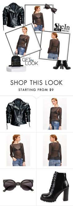 """Get the Look No3"" by andrea-pok ❤ liked on Polyvore featuring Leka, Jeffrey Campbell, Skinnydip and shein"