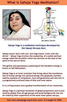 What Is Sahaja Yoga Meditation?