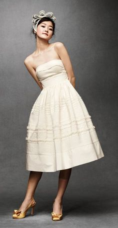 Anthropologie Wedding Dress (coming on Valentine's Day). I'm sure this collection will be amazing!