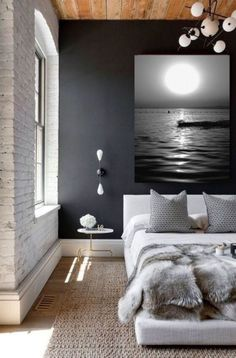 I grew pholiots in my living room! Bathroom Wall Decor, Home Decor Bedroom, Bedroom Wall, Diy Bedroom, Decor Room, Master Bedrooms, Beautiful Bedroom Designs, Beautiful Bedrooms, Bedroom Color Schemes