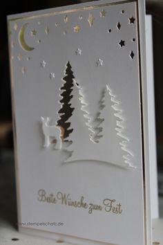 Like a Christmas carol - SU Weihnachten - Noel Christmas Cards 2017, Create Christmas Cards, Christmas Card Crafts, Stampin Up Christmas, Christmas Carol, Xmas Cards, Handmade Christmas, Holiday Cards, Stampin Up Weihnachten