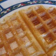Masa básica de Waffles @ allrecipes.com.ar