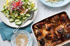 Rachel Khoo's Sticky Malaysian Chicken with Pineapple Salad recipe on Food52