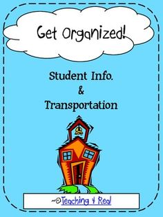 Get organized from the very beginning with these easy to use forms!  Included:*First Week of School Student Transportation*Routine Student Transportation Form  *Class Transportation Spreadsheet  *Class Trasnporation At a Glance Sheet  *Teacher Notes & Instructions on use