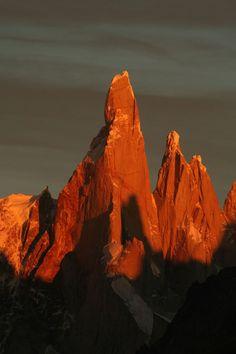 Patagonias Cerro Torre mountains