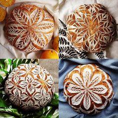 "Lizzie Montgomery on Instagram: ""This week's Designer Spotlight goes to baker Anna Gabur @breadjourney for her gorgeous sourdough loaves! Follow her at @breadjourney ! . .…"""