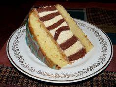 Odhalená legenda cukrářského umění: S brněnským dortem to je tak trochu jako s paní Colombovou. Ví se o něm, ale málokdo ho spatřil, natož jedl nebo dokonce doma vyrobil. O brněnském dortu se ví, že je na řezu pruhovaný. Také se ví, že udělat brněnský dort je úkol hodný závěrečné zkoušky na cukrářské škole.