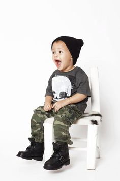 Toddler Fashion Photo Shoot - lexstyles  Shirt: H  Pants: Gap Kids  Shoes: Polo by Ralph Lauren  Hat: eBay