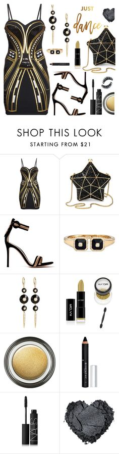 """""""Just Dance"""" by deborah-calton ❤ liked on Polyvore featuring H&M, Aspinal of London, Gianvito Rossi, Maria Canale, Giorgio Armani, Givenchy, NARS Cosmetics and danceparty"""