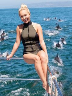 Hayden Panettiere: Actor and Animal Rights Activist. The star of the hit show Heroes is already making quite a name for herself as an environmental and animal activist. Panettiere made international news when she was issued an arrest warrant in Japan after protesting against whale and dolphin hunting in that country. She was subsequently given a a Genesis Award.