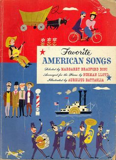 Favorite American Songs, illustrated by Aurelius Battaglia