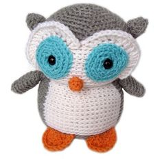 owl Stuffed Animal Crochet Pattern @Hollie