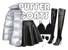 A fashion look from November 2017 featuring oversized puffer jacket, flared mini skirt and multiway bra. Browse and shop related looks. Flared Mini Skirt, Mini Skirts, Fashion Looks, Women's Fashion, Puffer Jackets, Charlotte Russe, Off White, Madewell, Elsa