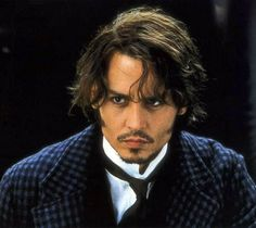 Johnny Depp - From Hell Young Johnny Depp, Johnny Depp Movies, Johnny Depp Smoking, Here's Johnny, Hot Actors, Actors & Actresses, Frederick Abberline, John Depp, Johnny Depp Pictures