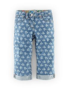 Cropped Roll Ups 32592 Pants at Boden