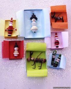 10 manualidades Navideñas con botones ~ Manzanaterapia