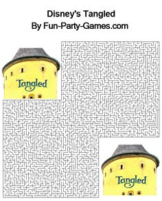 Printable Maze Puzzles for Adults   Maze Puzzles For Adults http://fun-party-games.com/kidsbirthday ...