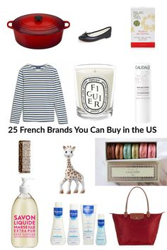 25 French Brands You Can Buy in the US — Every Day Parisian - Care - Skin care , beauty ideas and skin care tips French Girl Style, French Chic, French Decor, French Country, Marseille Soap, Piercings, French Brands, French Products, French Lifestyle