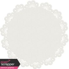 The Lucky One - White Doily