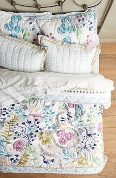 sweet floral spring time bedding