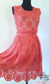 ergahandmade: Crochet Dress + Diagrams Crochet Shirt, Crochet Baby, Crochet Summer Dresses, Irish Lace, Irish Crochet, Crochet Clothes, Dress Patterns, Baby Dress, Ideias Fashion